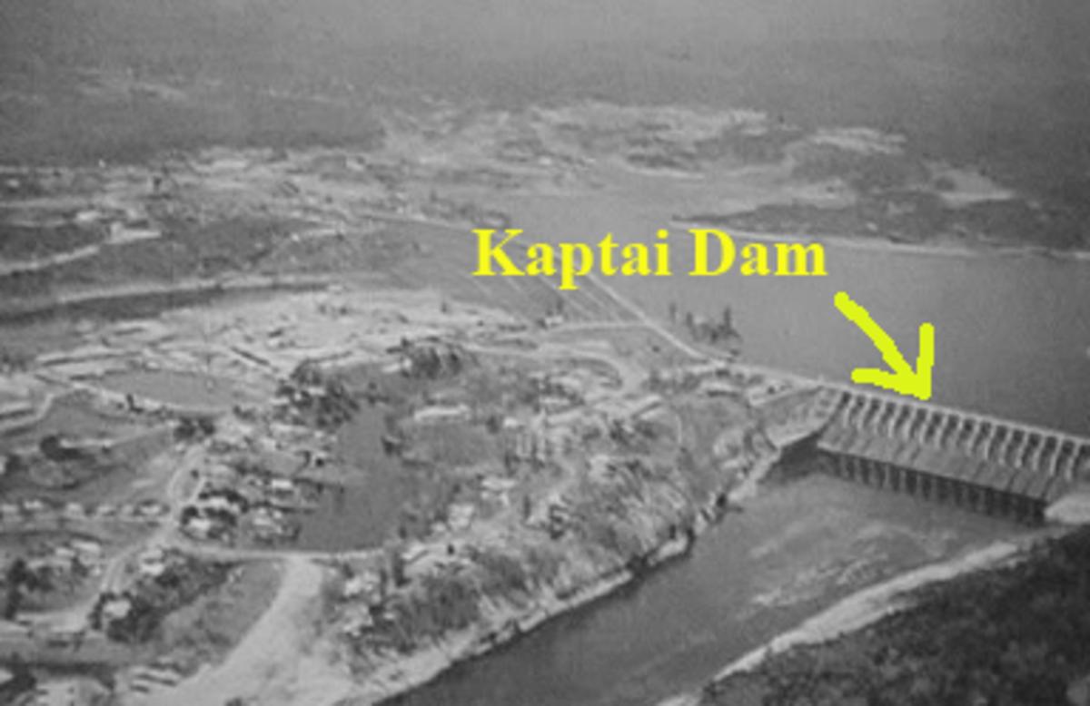 Kaptai Dam, Kaptai, Rangamati
