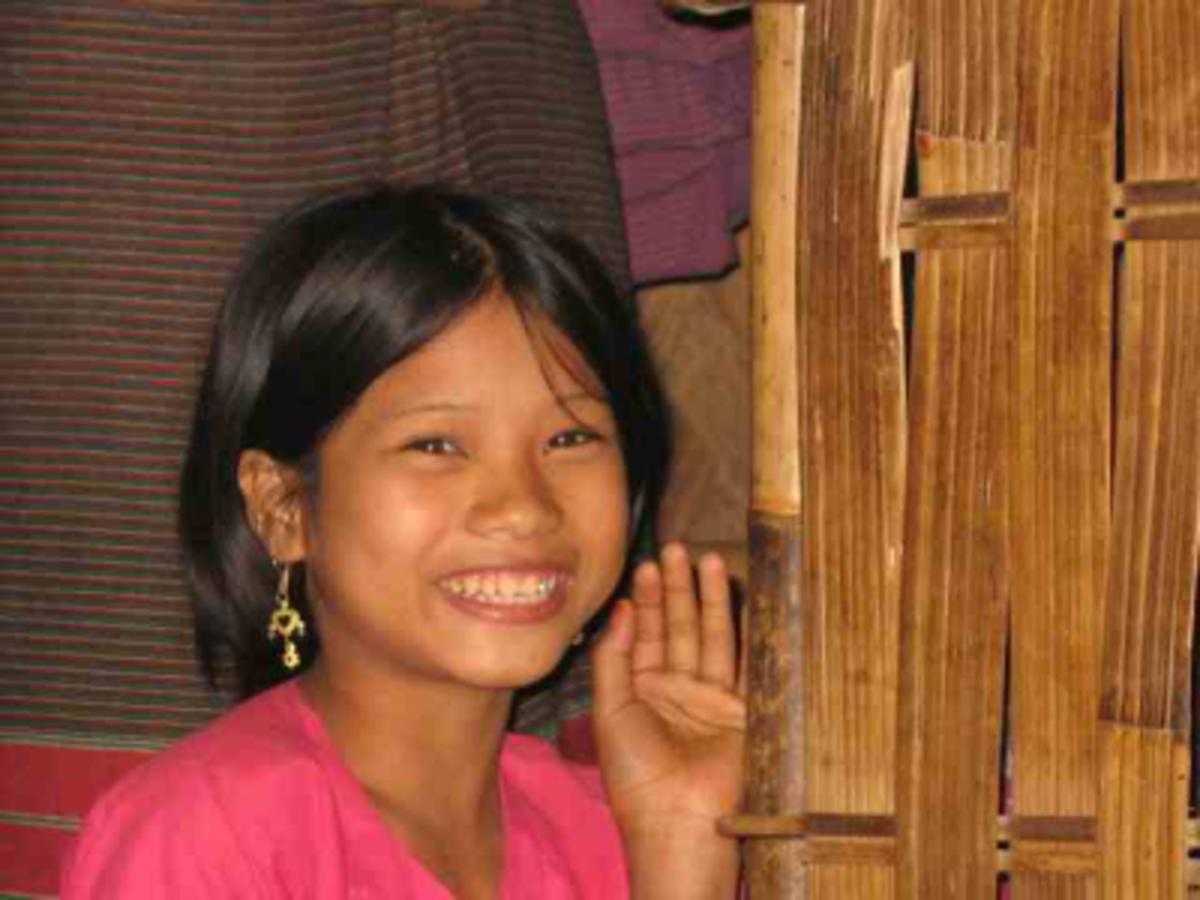 Smiling Jummo Girl
