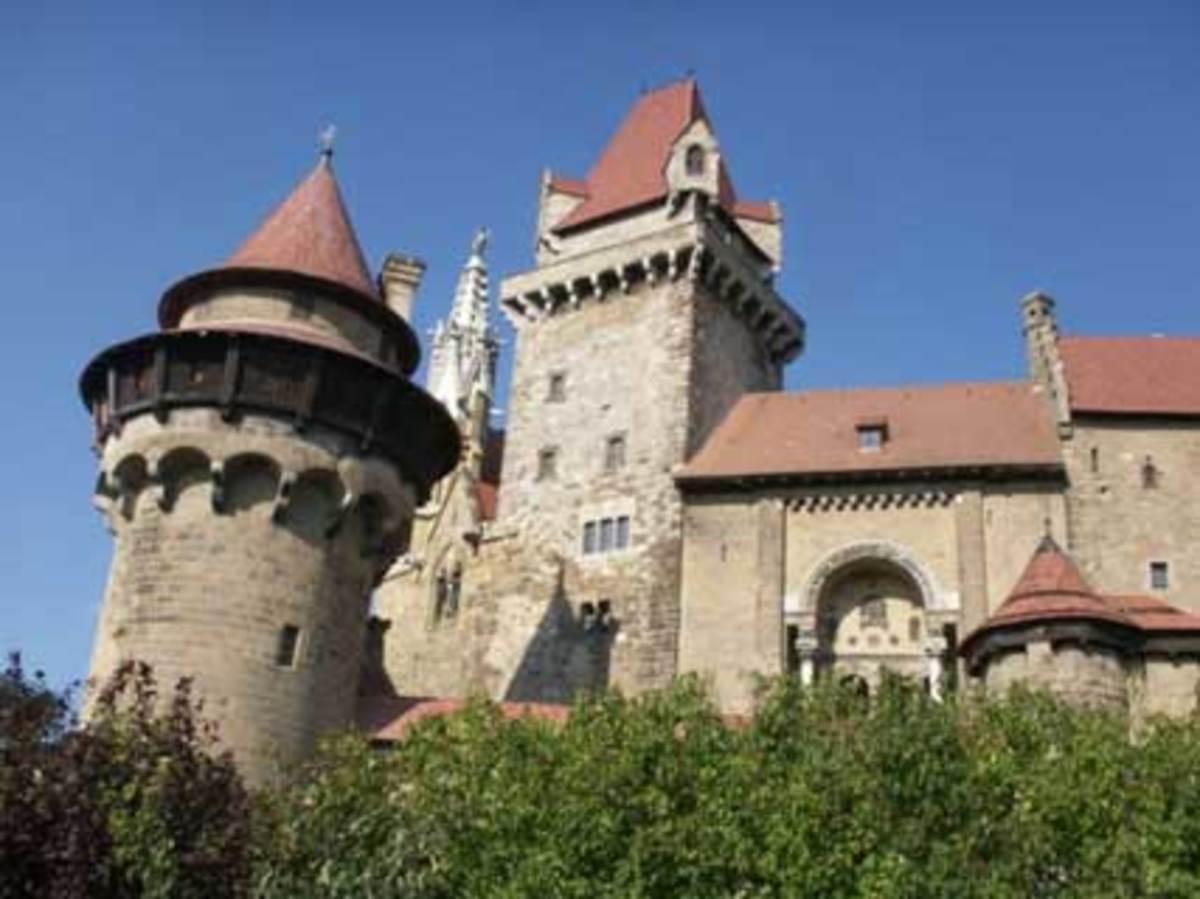 There are many castles in Europe