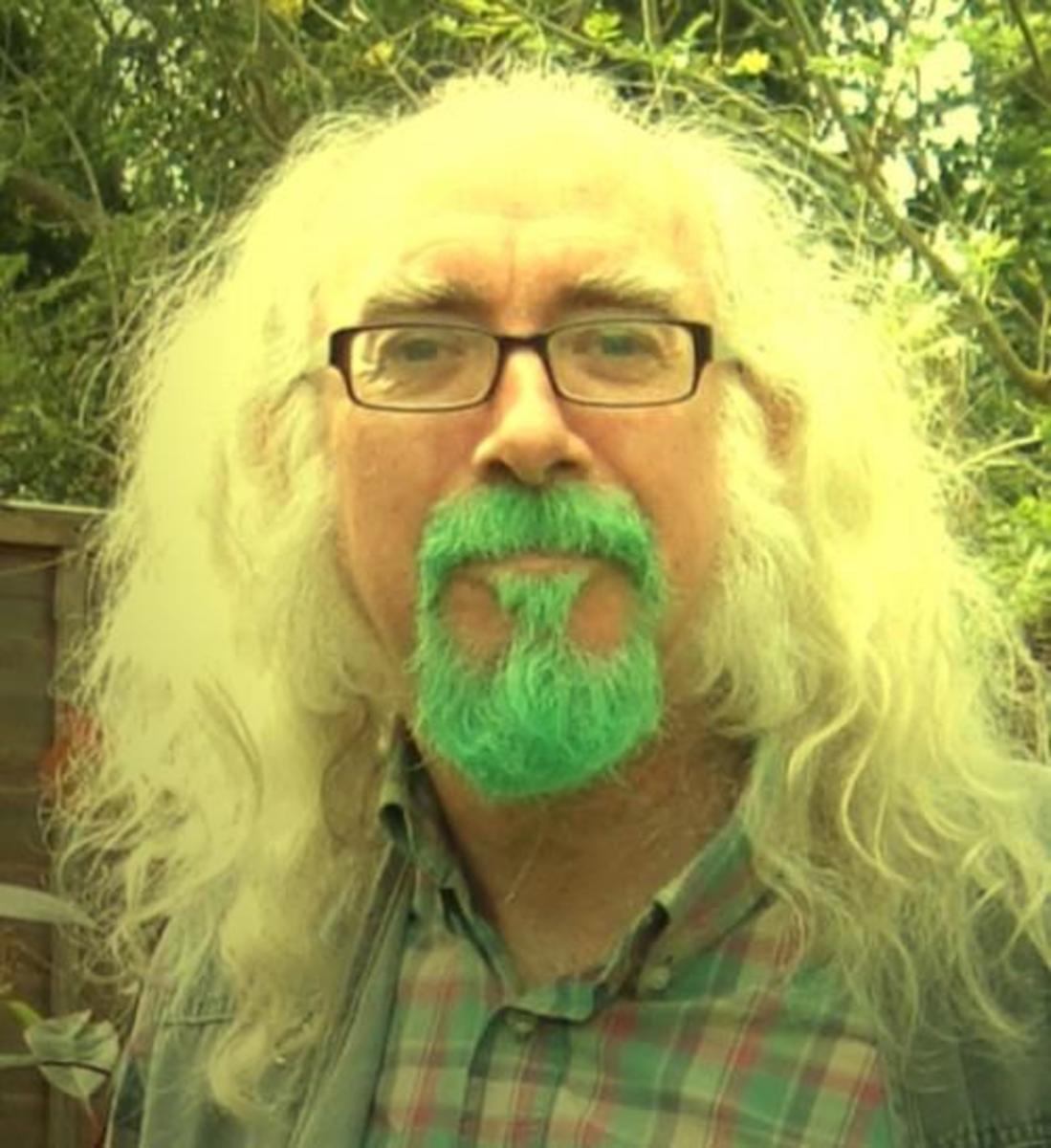Green Beard and snow white hair