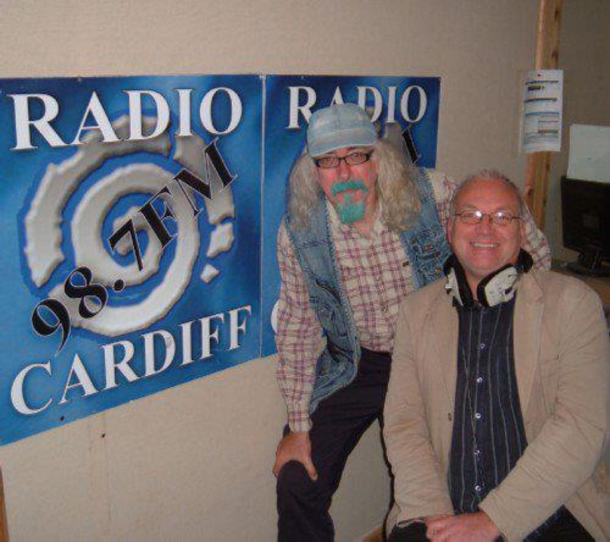 Bard of Ely on Steve Johnson's show on Radio Cardiff