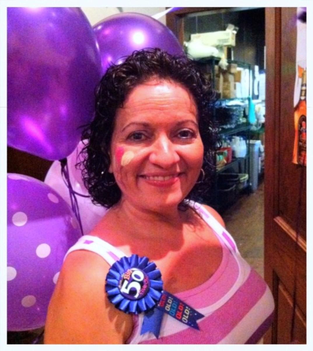 Happy 50th Birthday to me!