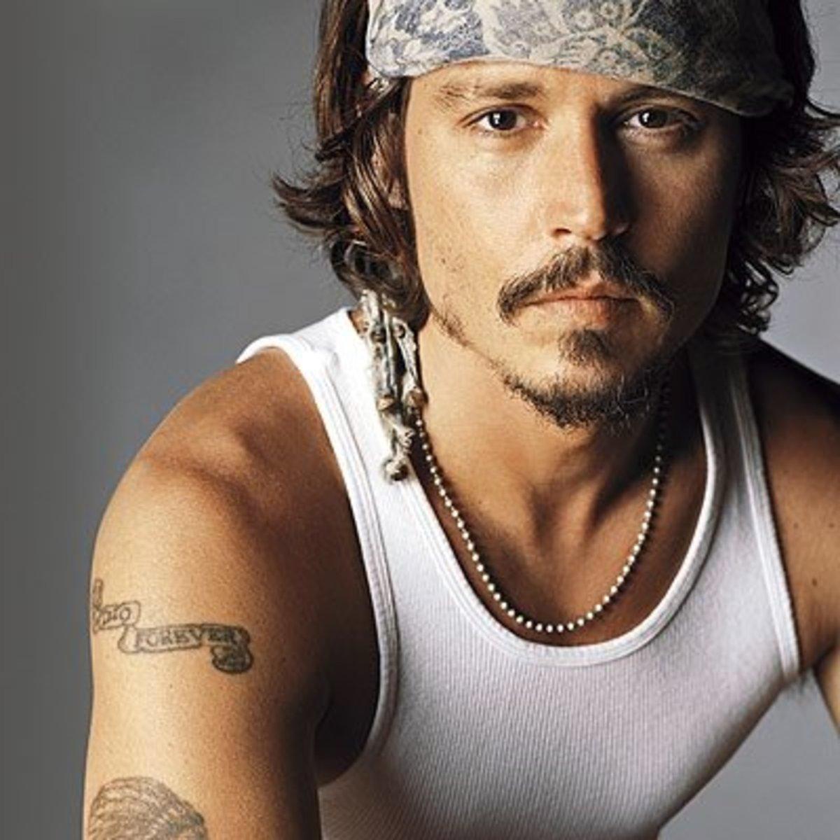 Johnny Depp was born in 1963