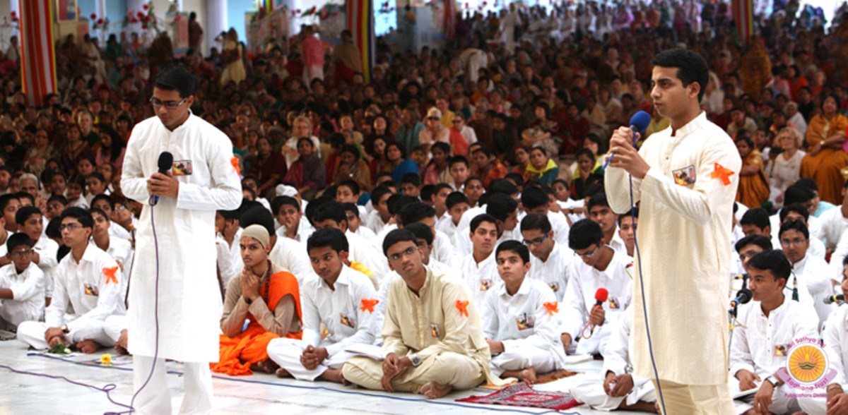 Each and every narrative was in gratitude towards Swami...