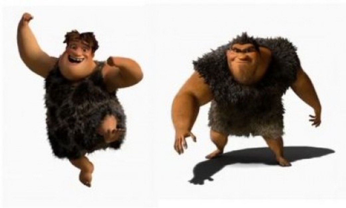 The Croods' Father and Son Duo