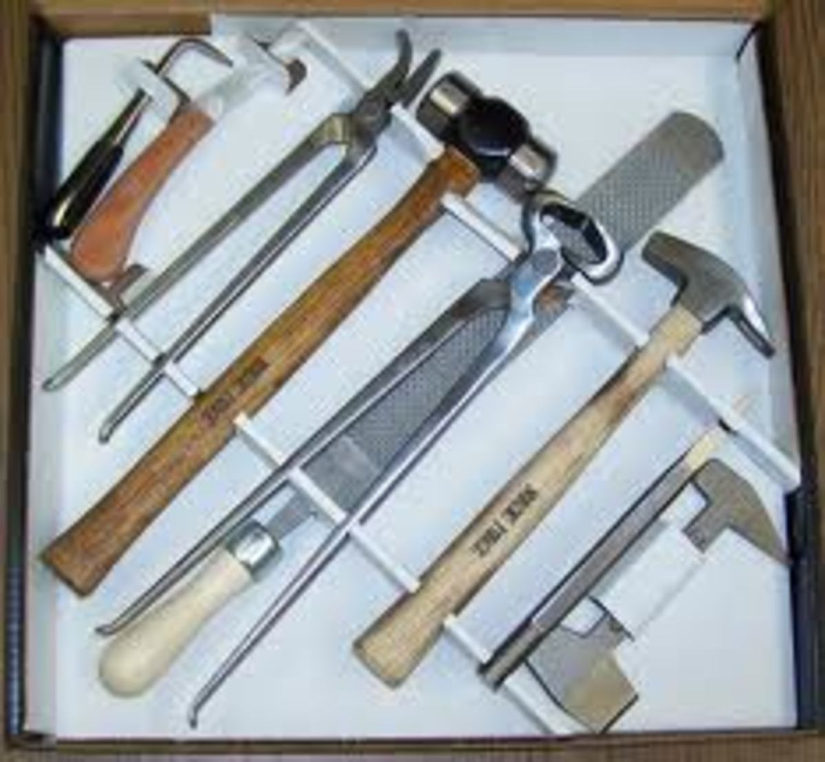 Farrier Tool Set from Cottage Craft Works