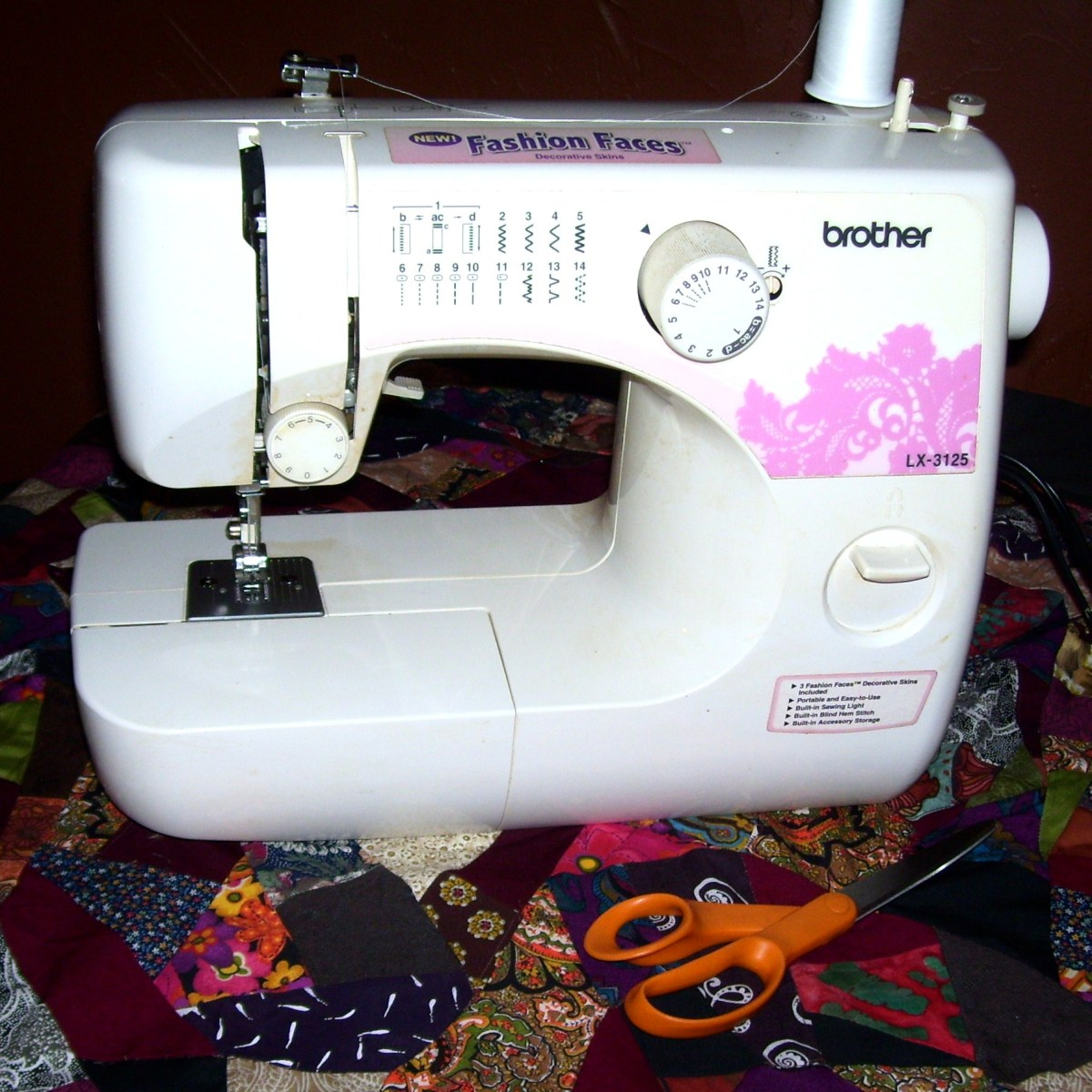 Brother LX40 Sewing Machine Review HubPages Enchanting Brother Sewing Machine Lx3125