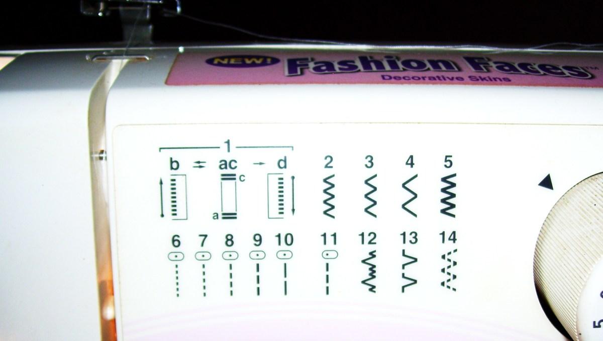 Stitch guide.
