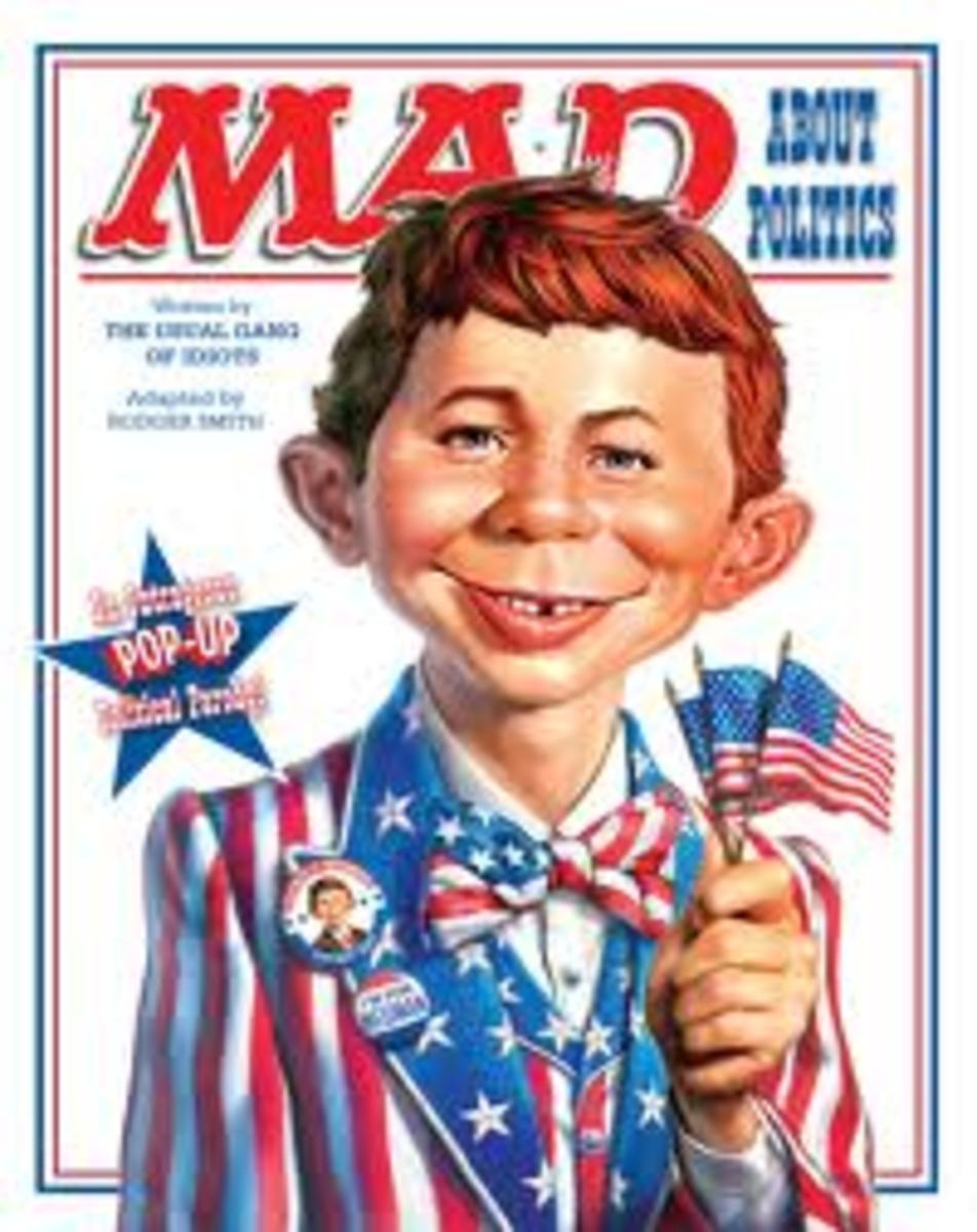 MAD featuring Alfred.E.Neuman