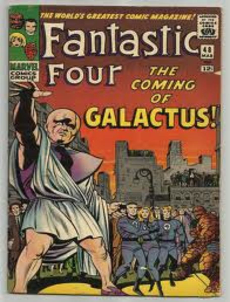 Fantastic Four # 48 Part one of the Galactus Trilogy