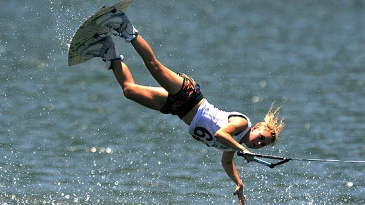 Wakeboarding Stunt