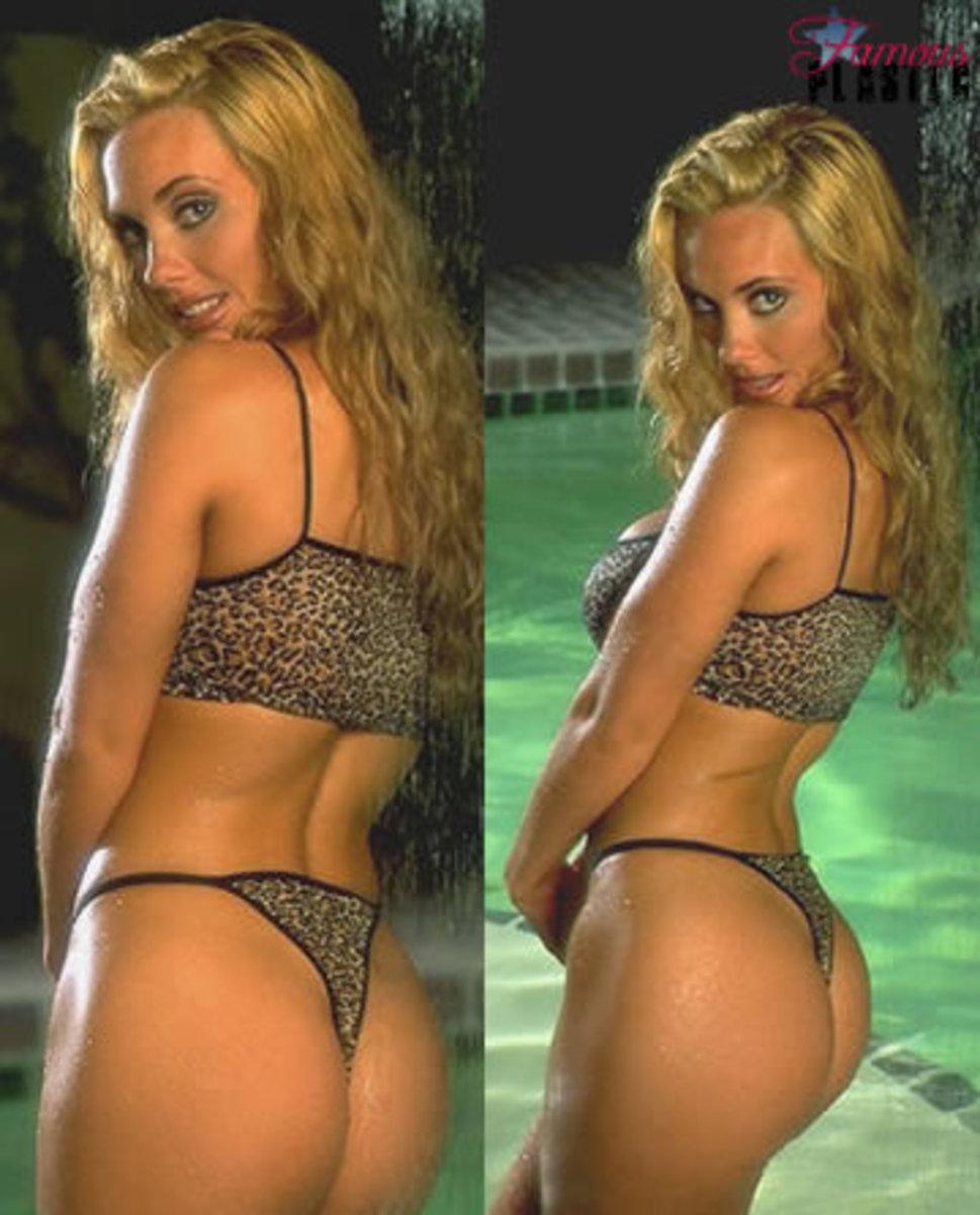 Coco Austin before she had plastic surgery.