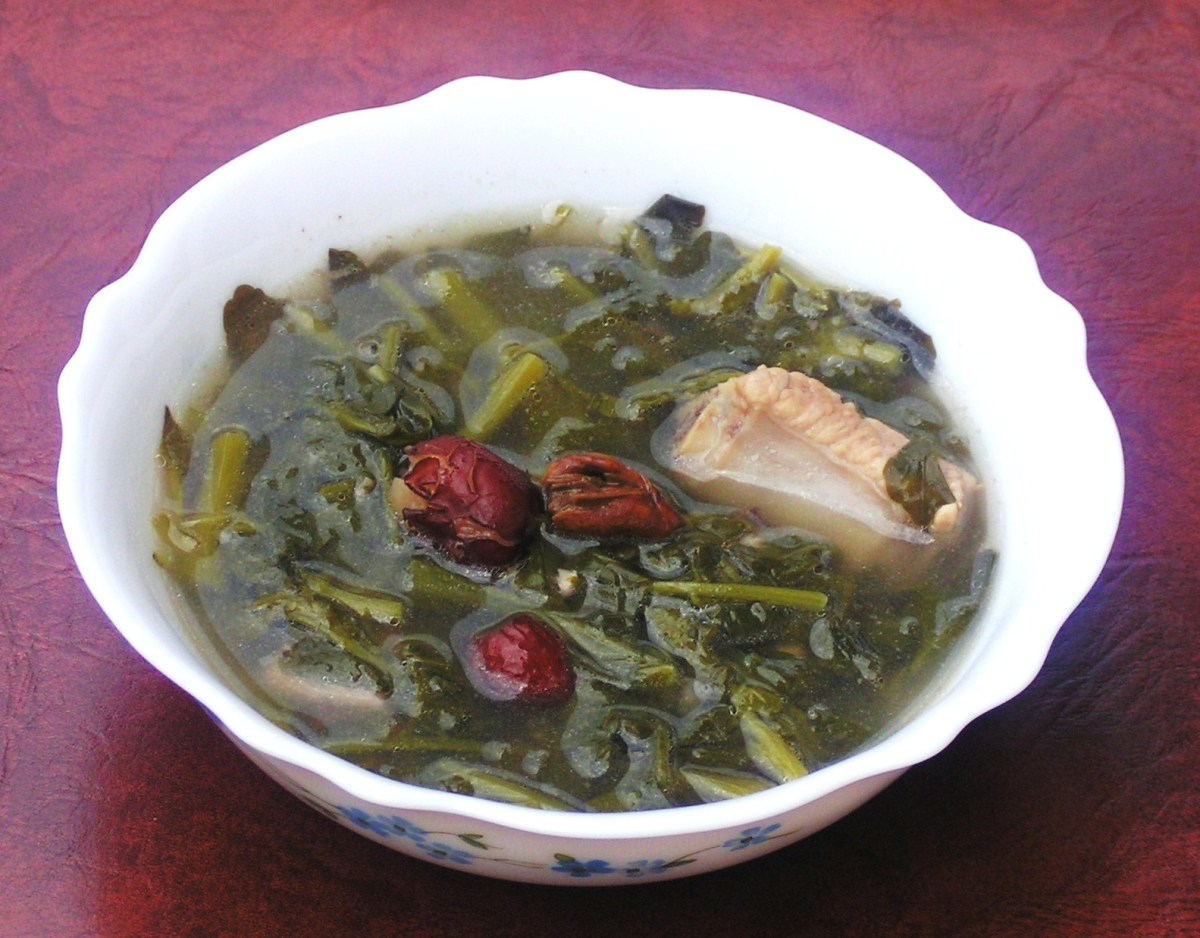 Watercress Soup Recipe : Chinese Style