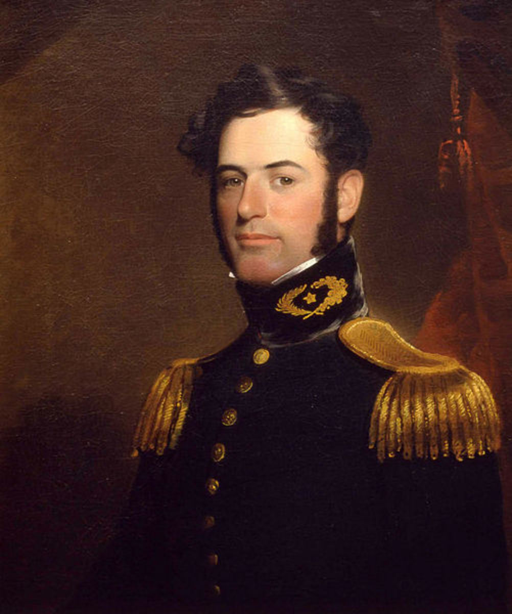 Robert E. Lee at age 31, then a young Lieutenant of Engineers, U. S. Army, 1838.  This work is in the public domain in the United States, and those countries with a copyright term of life of the author plus 100 years or less.