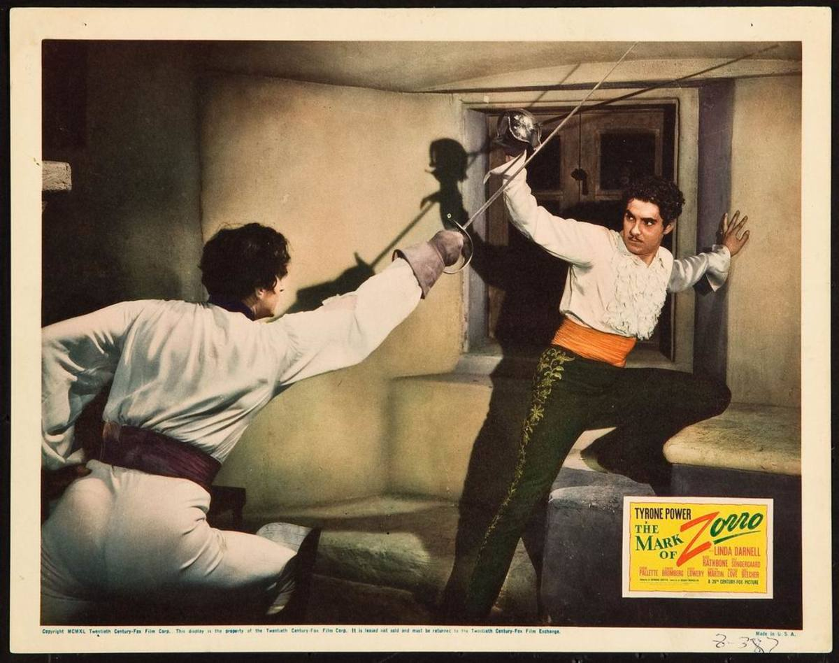The Mark of Zorro (1940) Lobby card