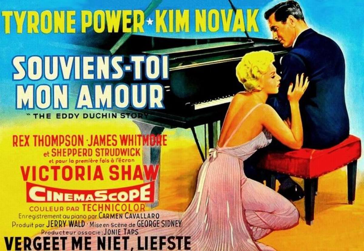 The Eddy Duchin Story (1956) Belgian poster