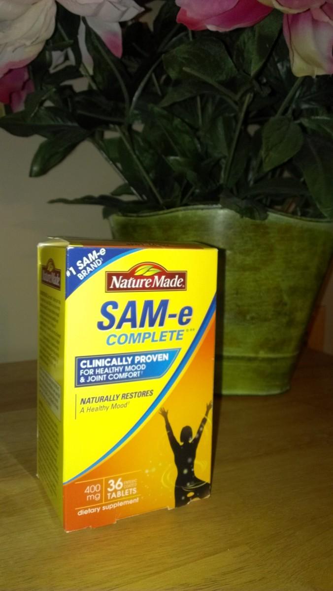 Sam-E is Helping My Fibromyalgia, Arthritis, and Depression