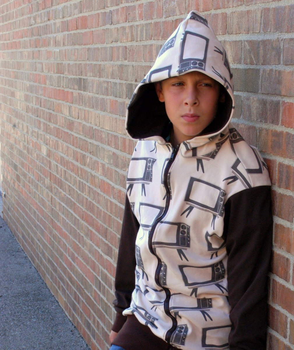 oversized hoodie free pattern
