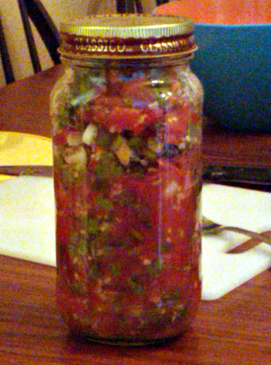 One jar ... ready to eat