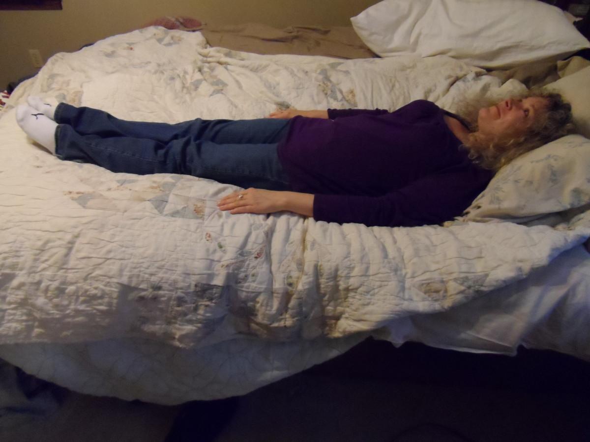 Supine sleep position is lying on back