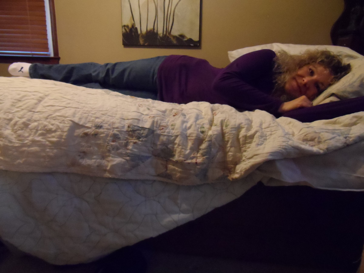Left side sleep position