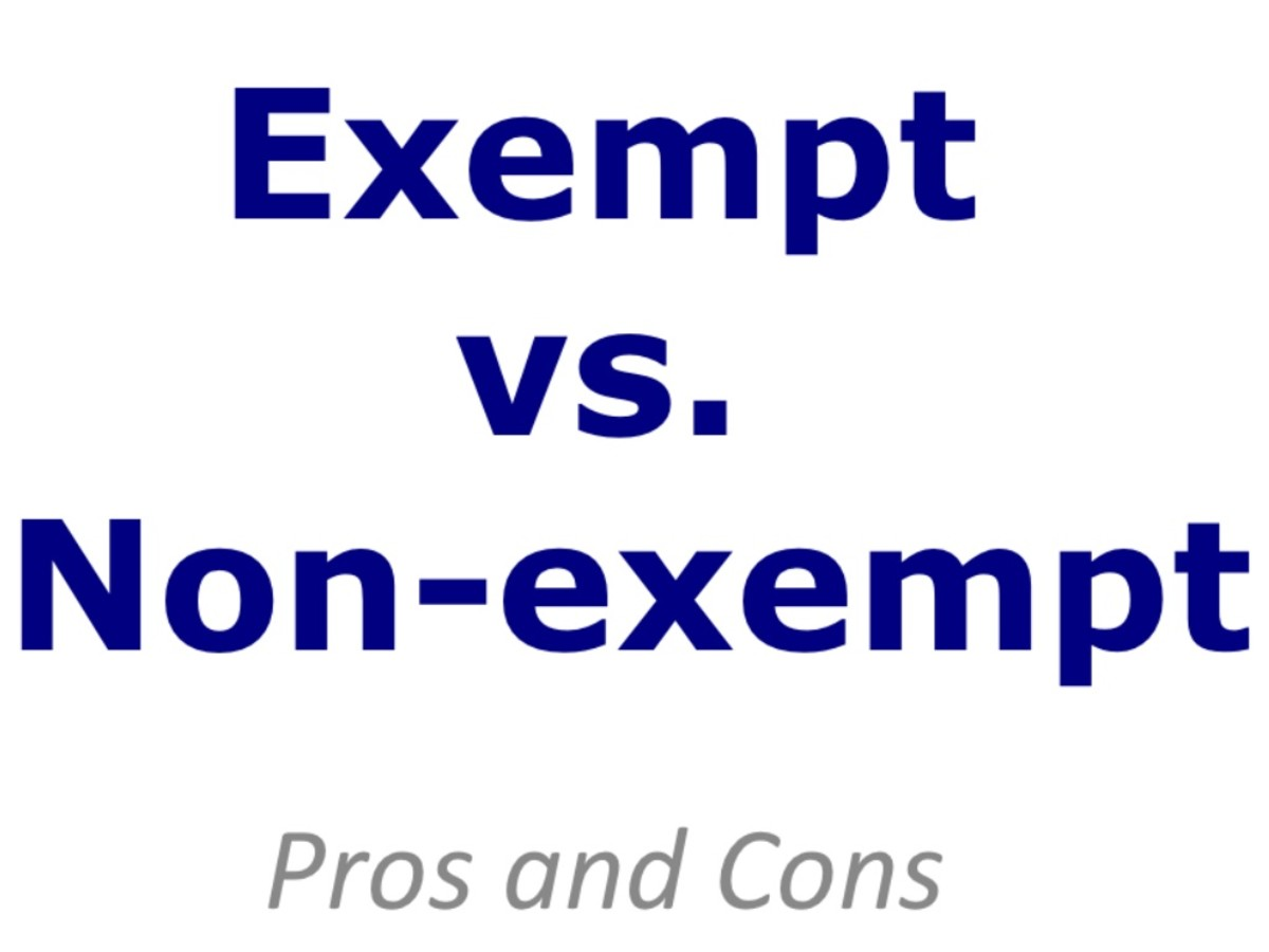 Exempt vs. Non-exempt Employees