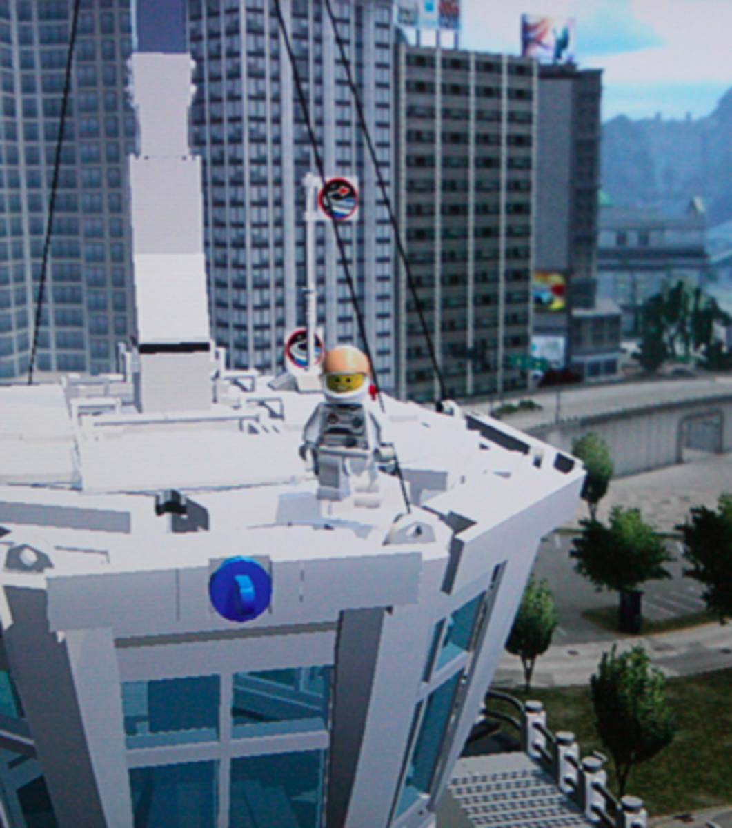 LEGO City Undercover walkthrough: LEGO City Airport Collectibles
