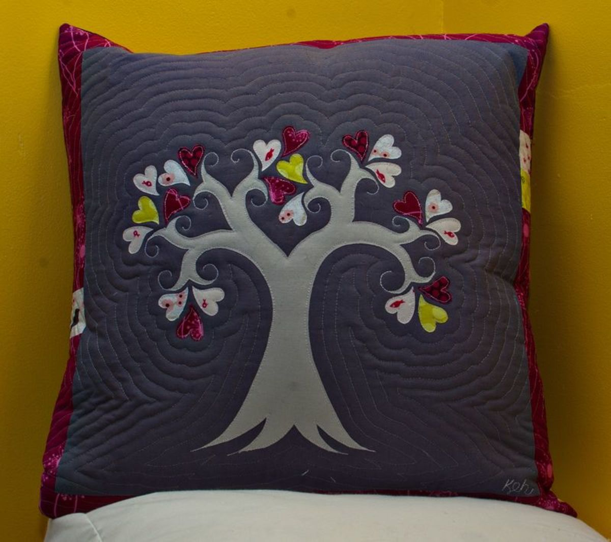 Tree Pillow Sewing Tutorial