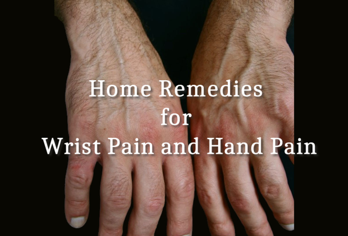 Home Remedies for Wrist Pain and Hand Pain