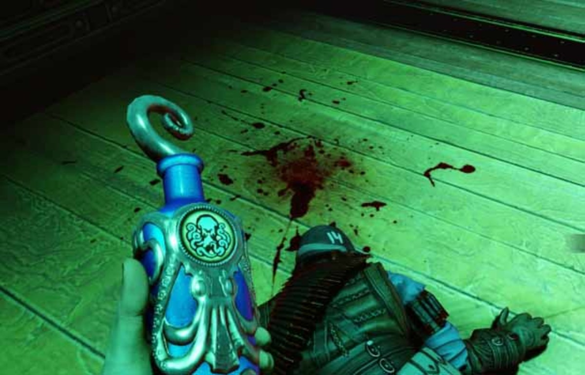 Bioshock Infinite get undertow vigor from the office of Jeremiah Fink in the factory