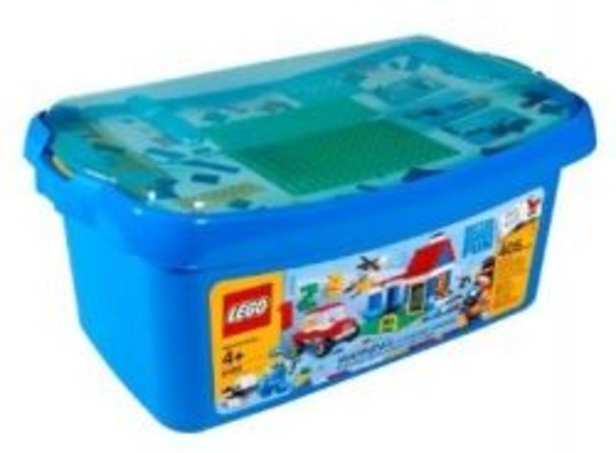 tub of legos