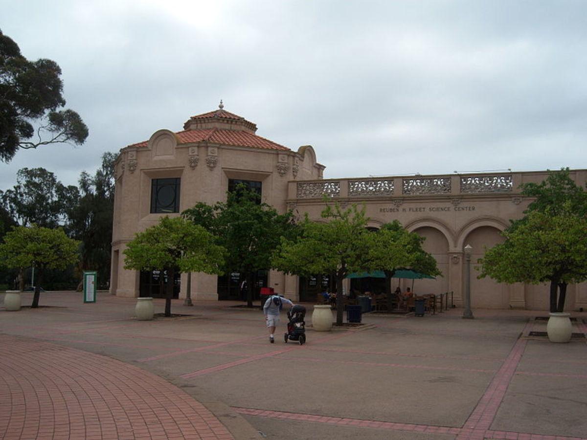 Reuben Fleet Science Center in San Diego's Balboa Park