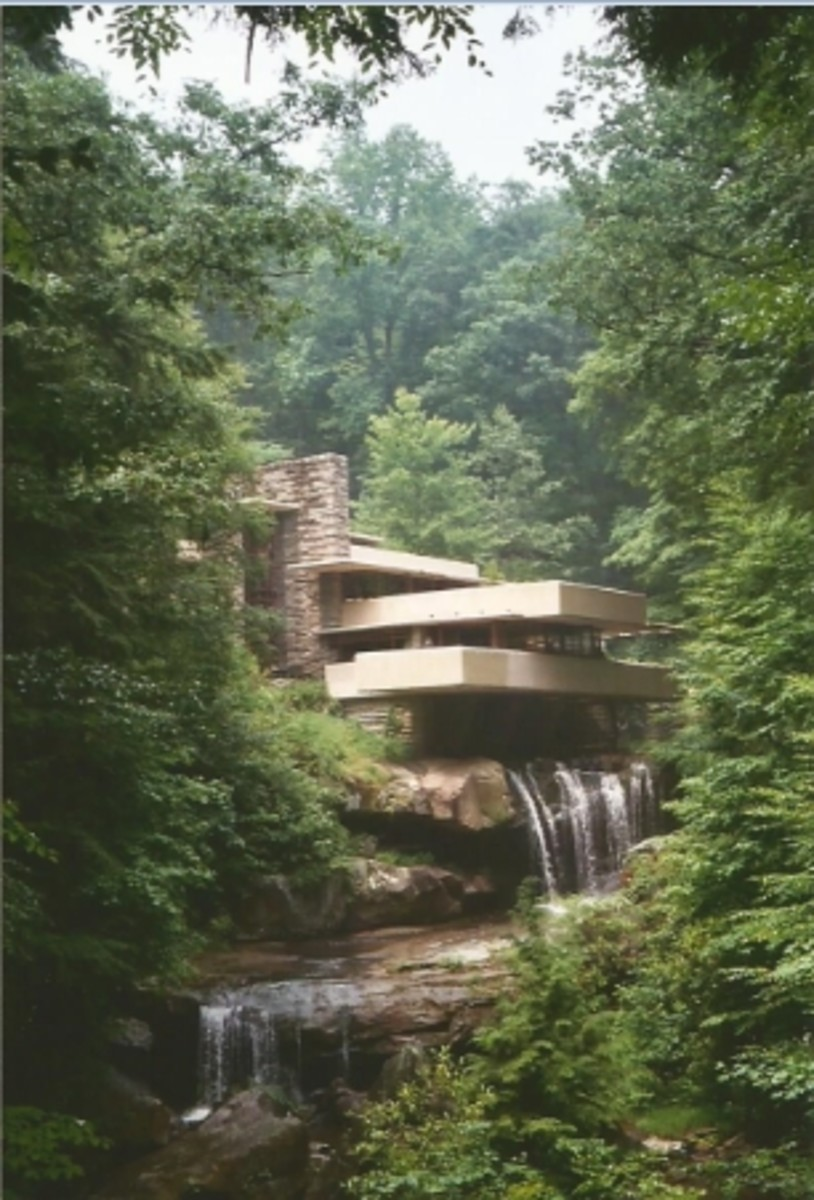 Fallingwater in Mill Run, PA