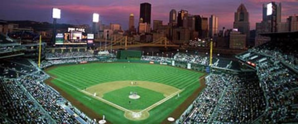 PNC Park in Pittsburgh, home of the Pittsburgh Pirates