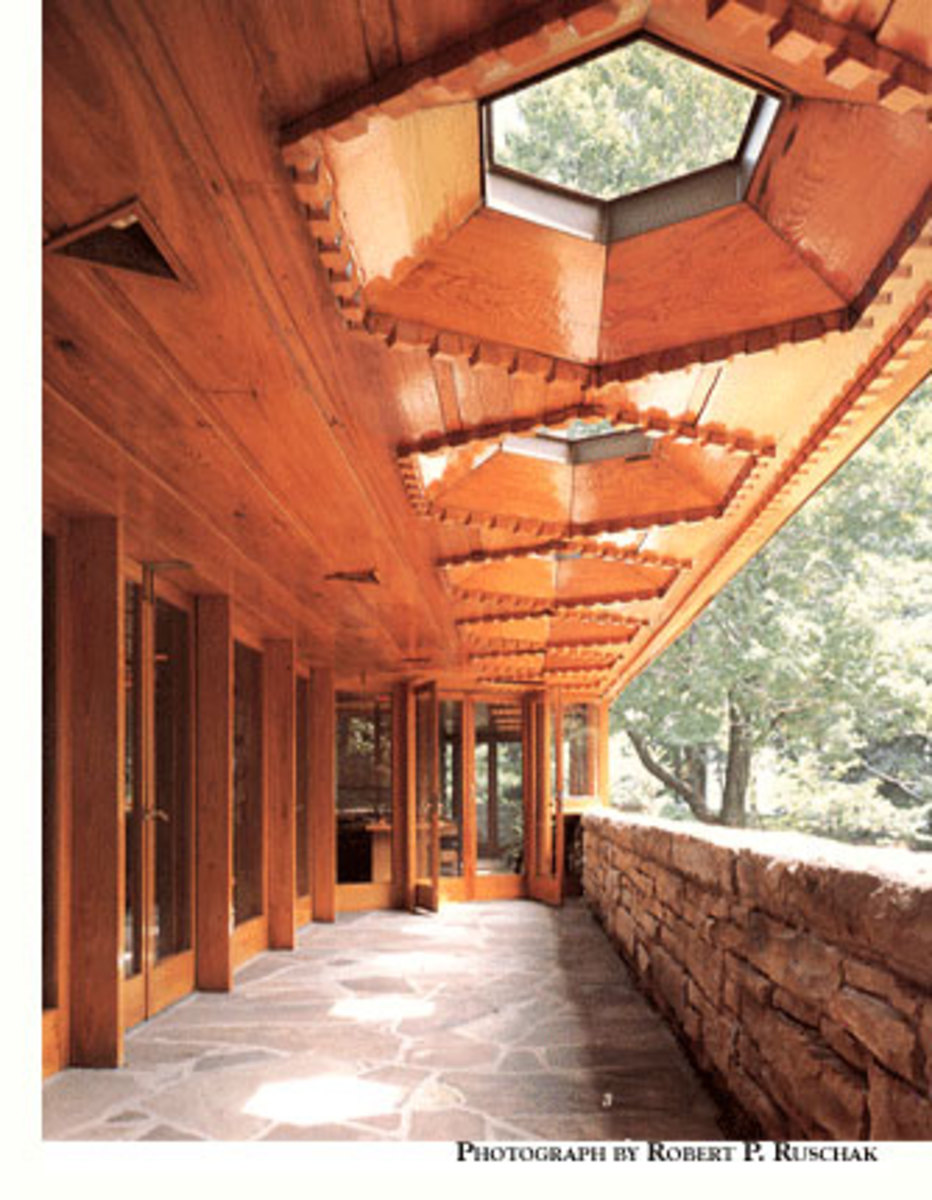 Kentuck Knob, designed by Frank Lloyd Wright