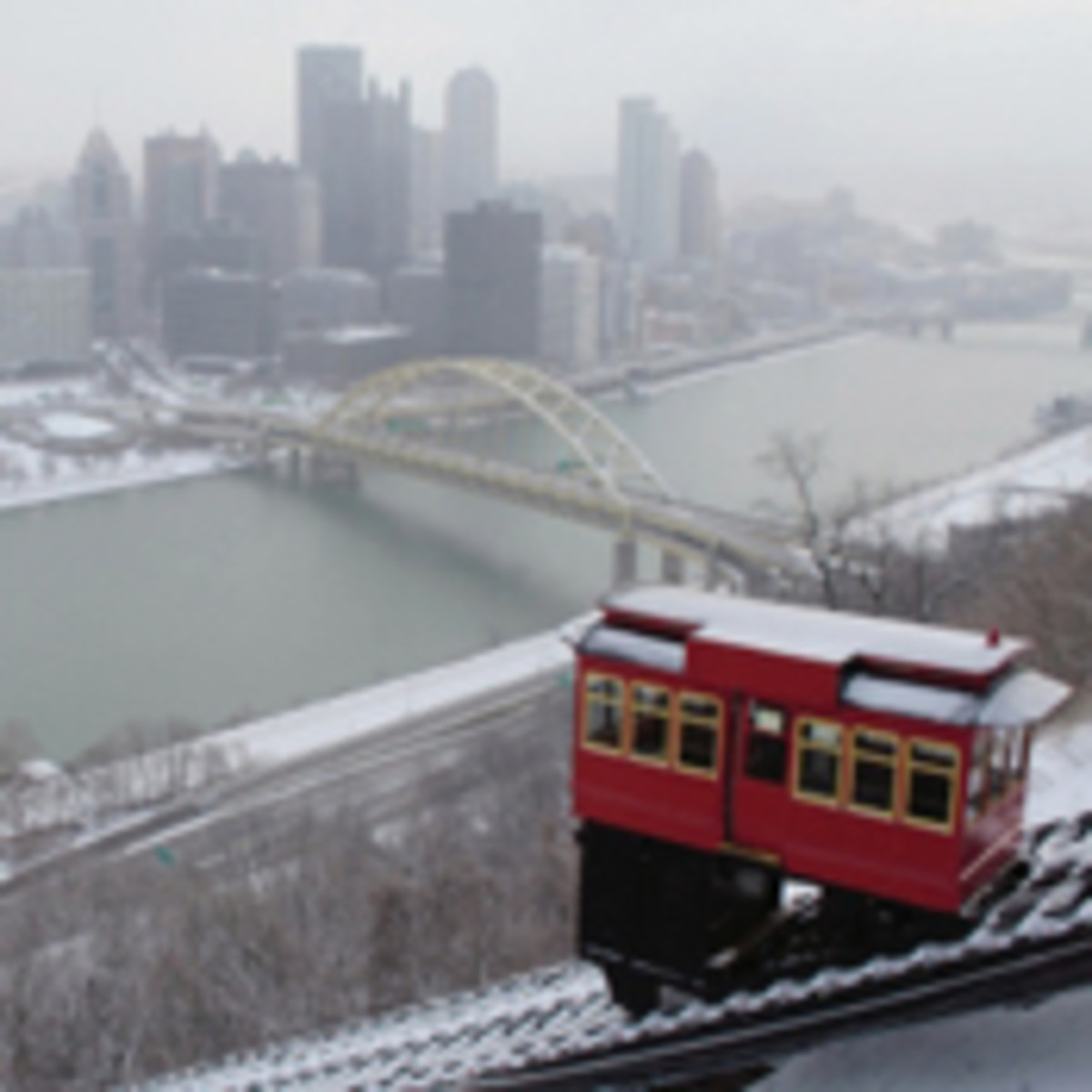 The Duquesne Incline in Pittsburgh