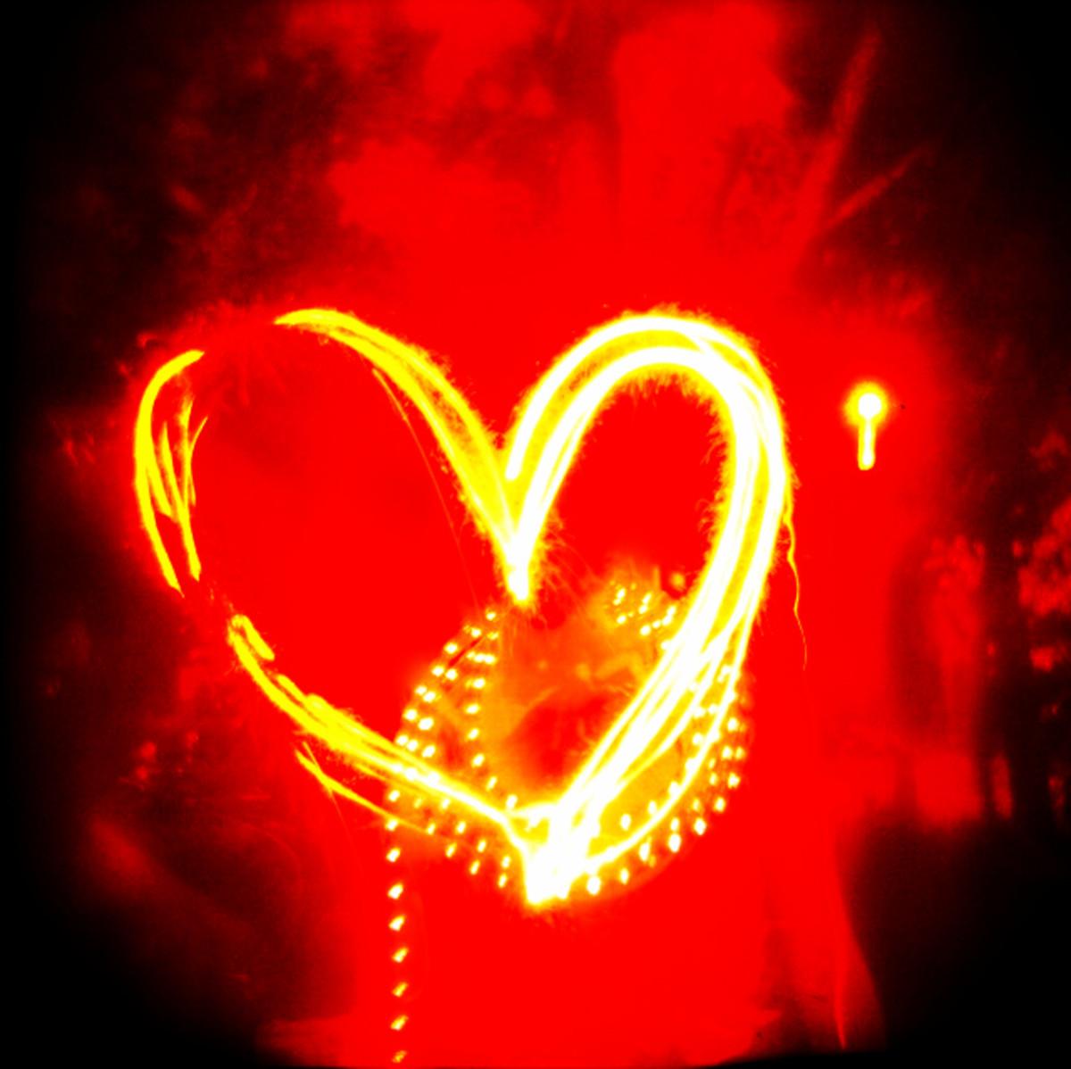 """""""Mein Herz Brennt"""" -- my heart burns, by Rammstein."""