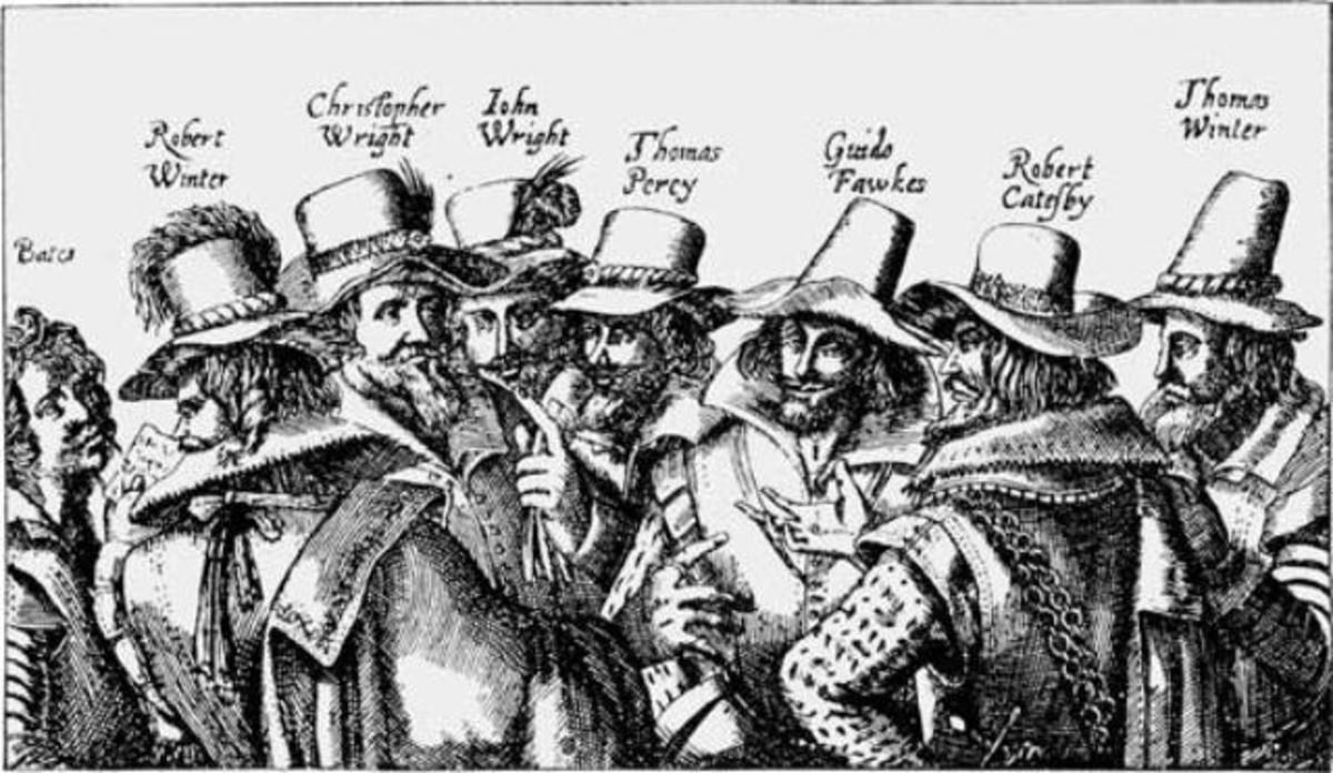 The plotters - Guy was the front man, the 'face', a warrior-type willing to risk all to put a Roman Catholic king on the throne