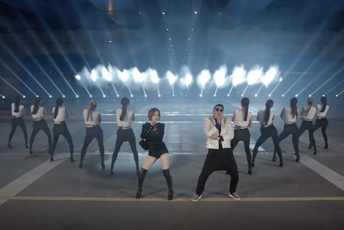 Pys doing the Gentleman Dance. (similar to Gangnam Style)