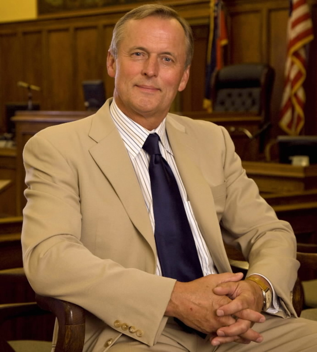 John Grisham- best selling 1990s author.