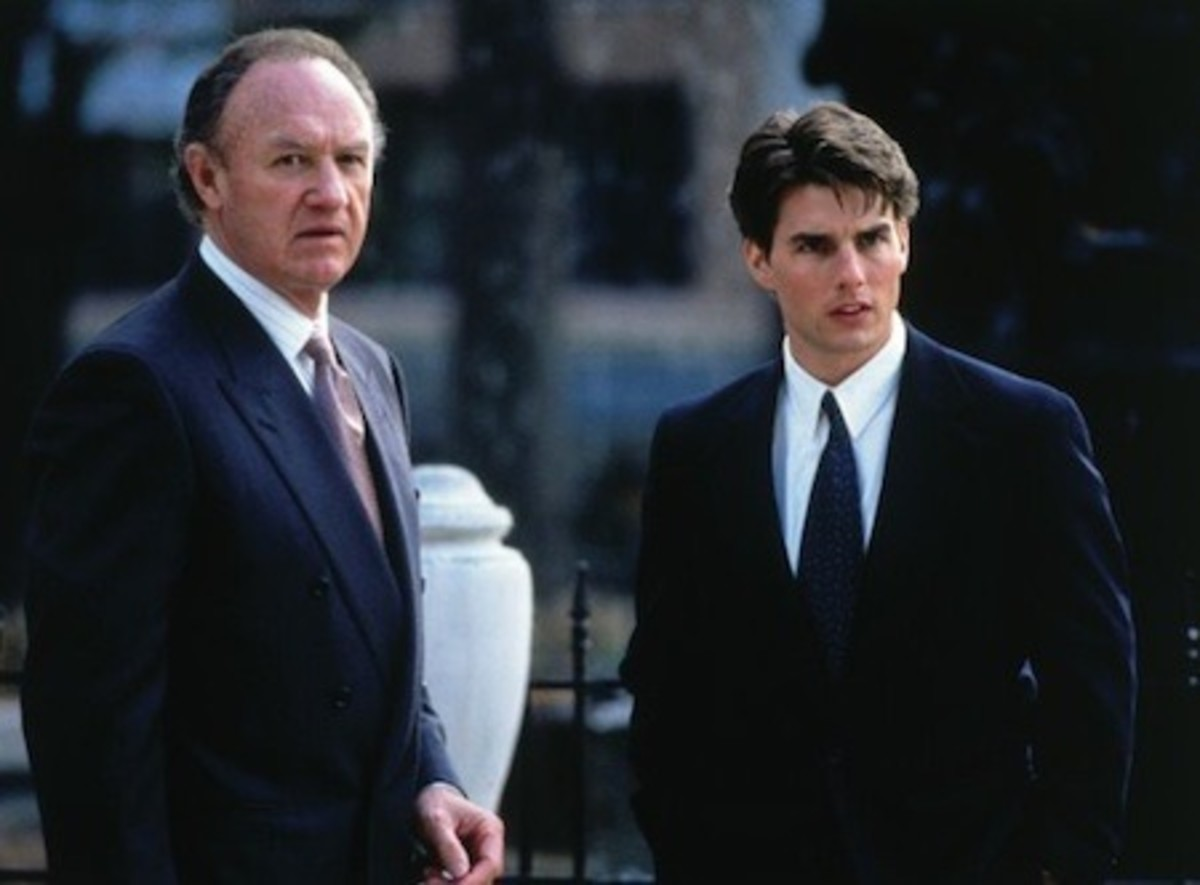 Gene Hackman and Tom Cruise starred in the film version of The Firm