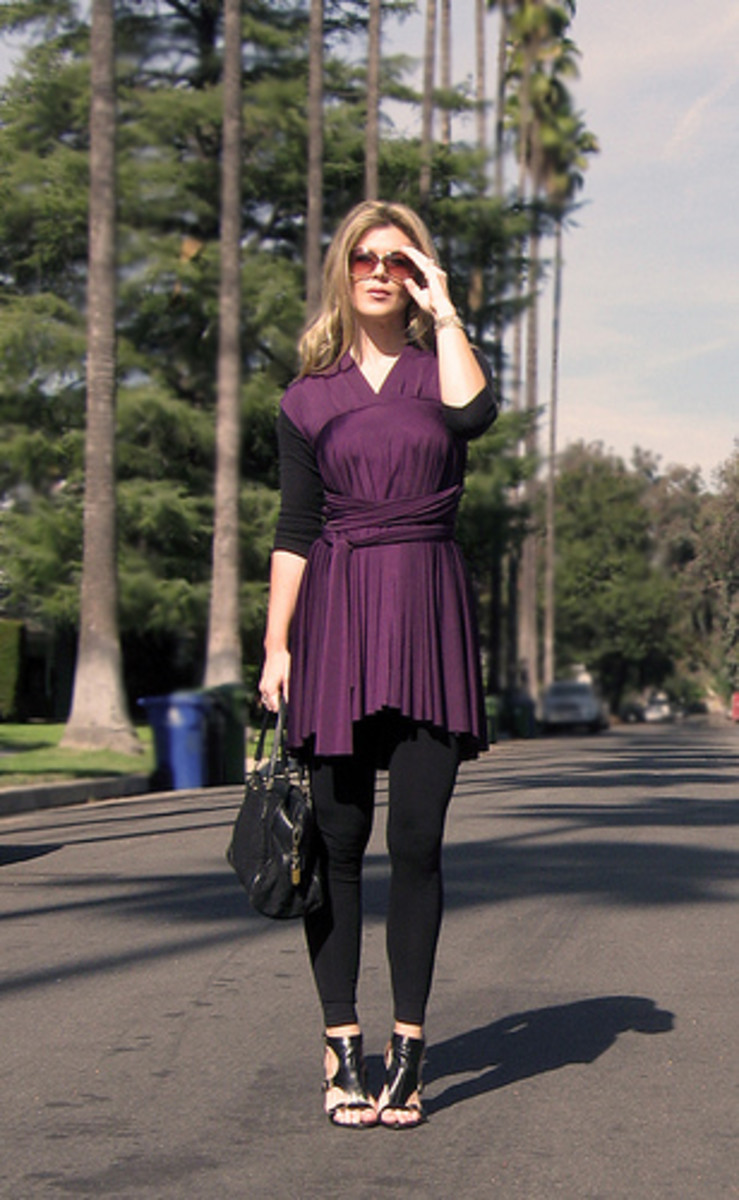 How to Make a Cute Wrap Dress