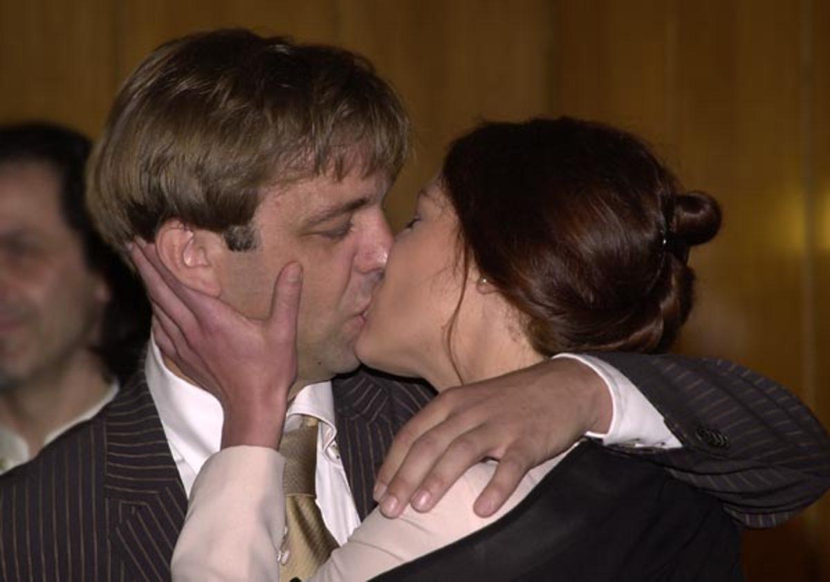 Couple having Kiss