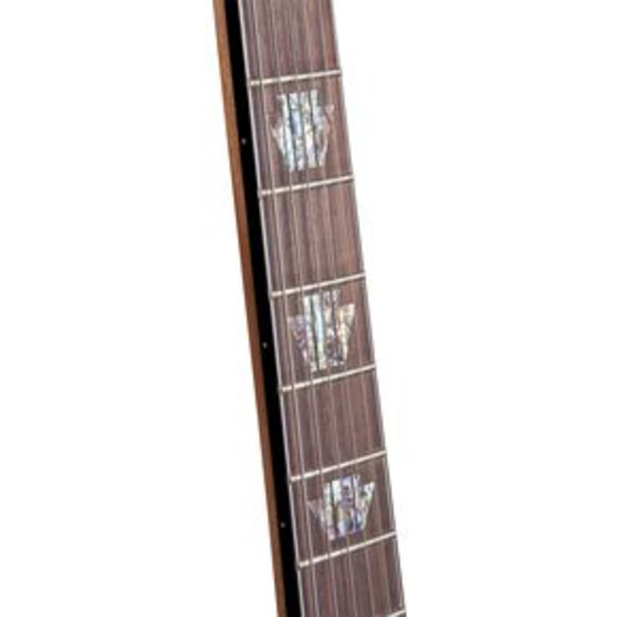 The SK-3 ST has a very thin, super-playable neck with binding around the fretboard edges and a compound fret radius.