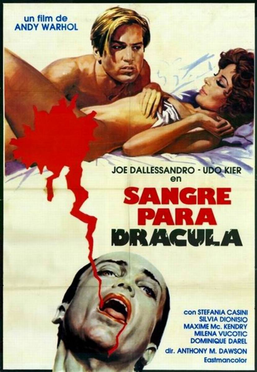 Blood for Dracula (1974) Spanish poster