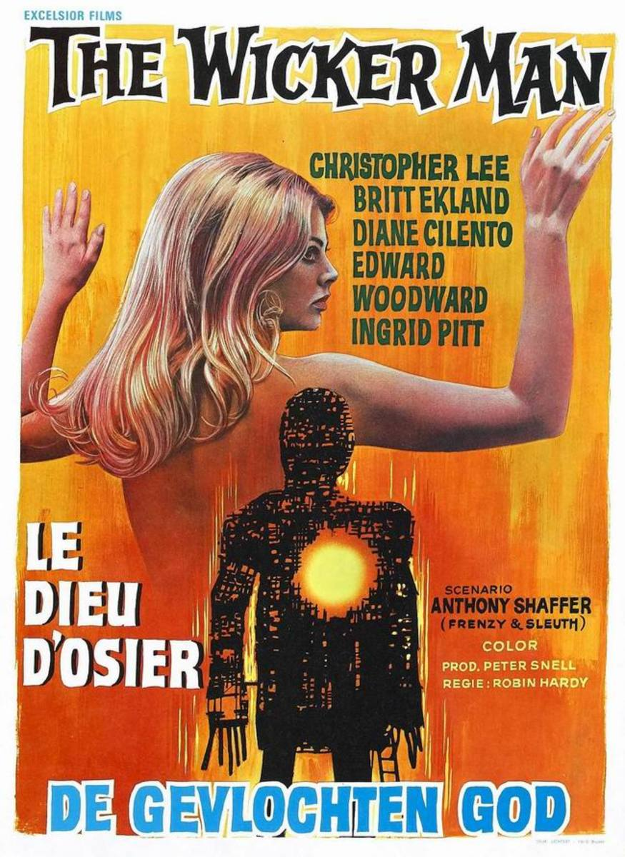 The Wicker Man (1973) Belgian poster