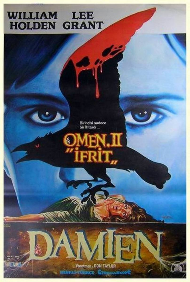 Damien Omen II (1978) Turkish poster
