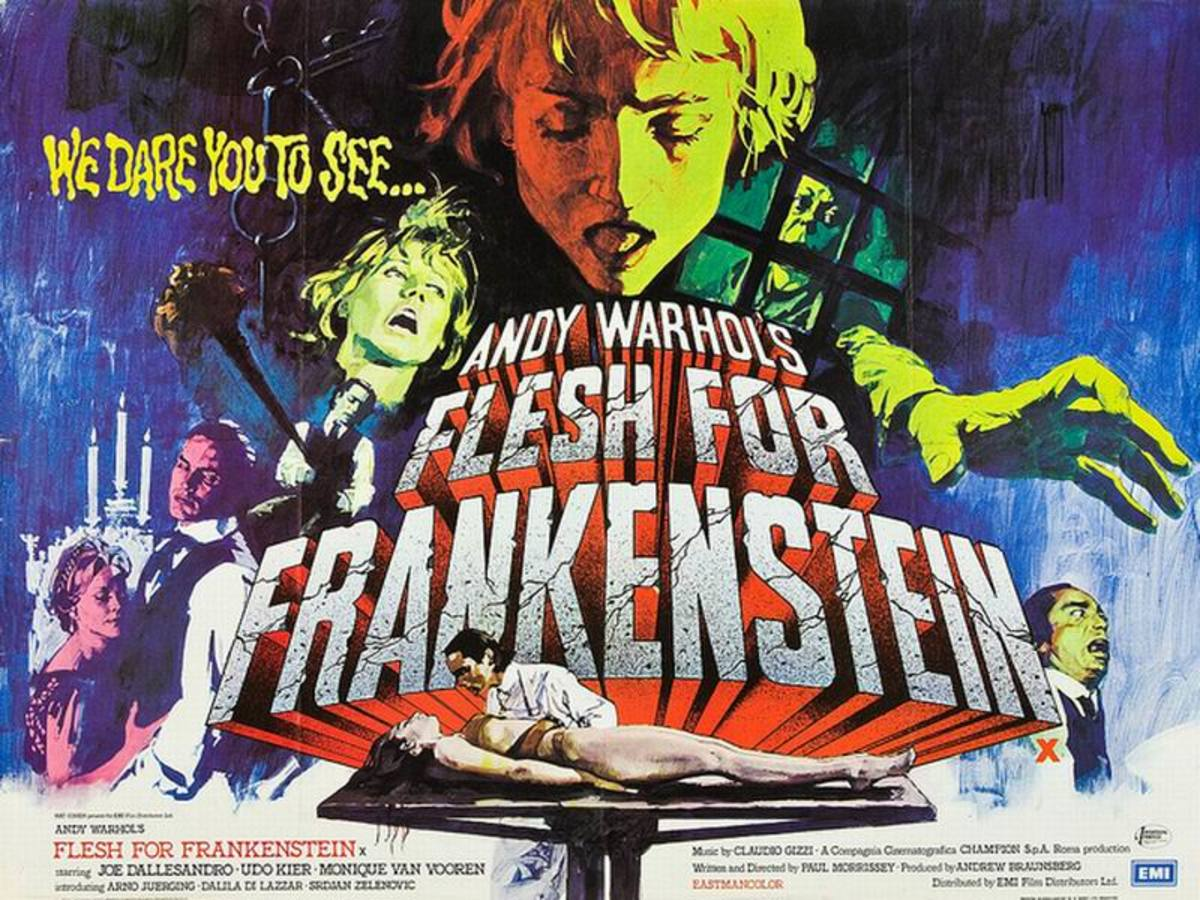 Flesh for Frankenstein (1973) UK poster