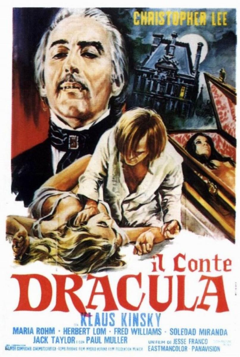 Count Dracula (1970) Italian poster