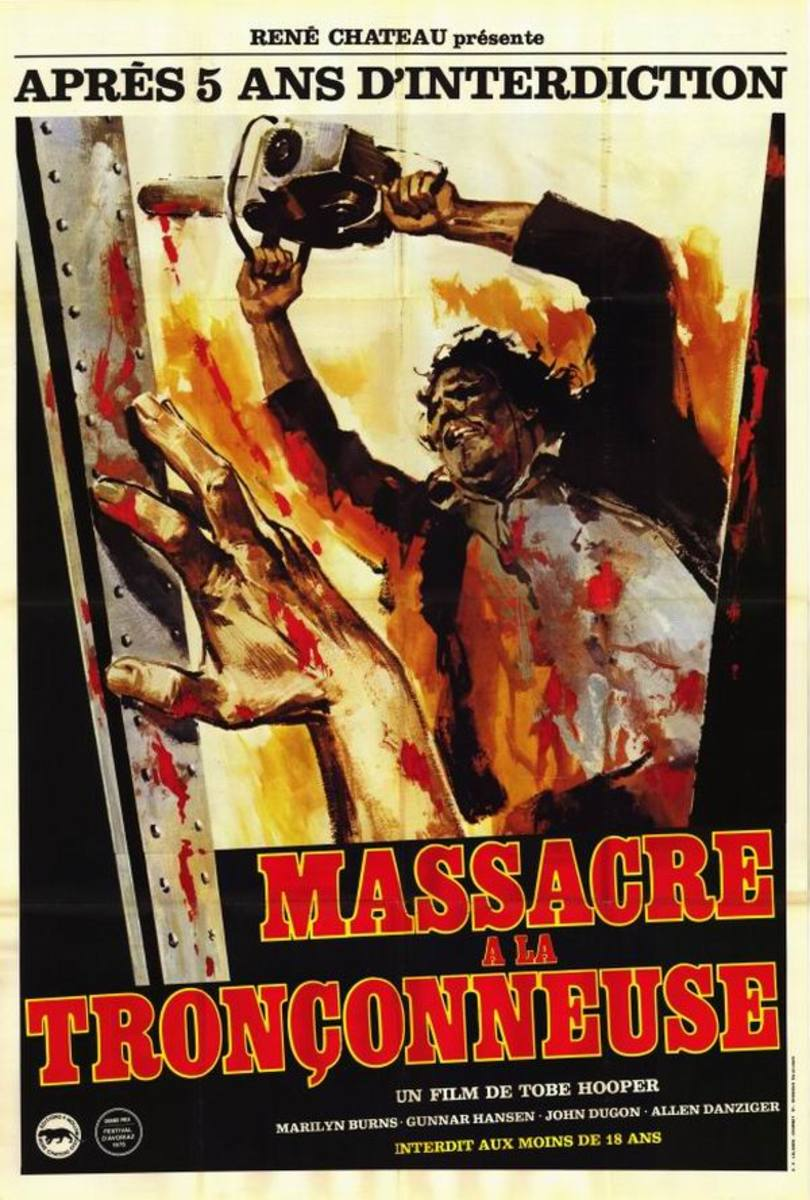 The Texas Chainsaw Massacre (1974) French poster